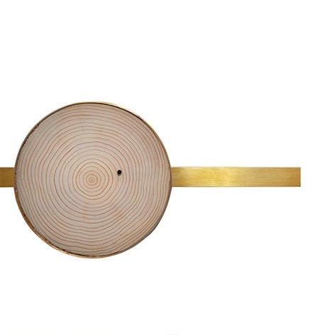 Annual Rings Clock II